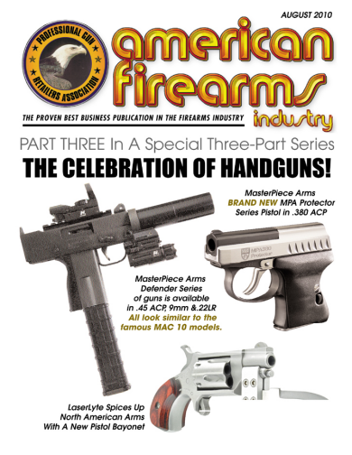 American Firearms Industry Article about MasterPiece Arms