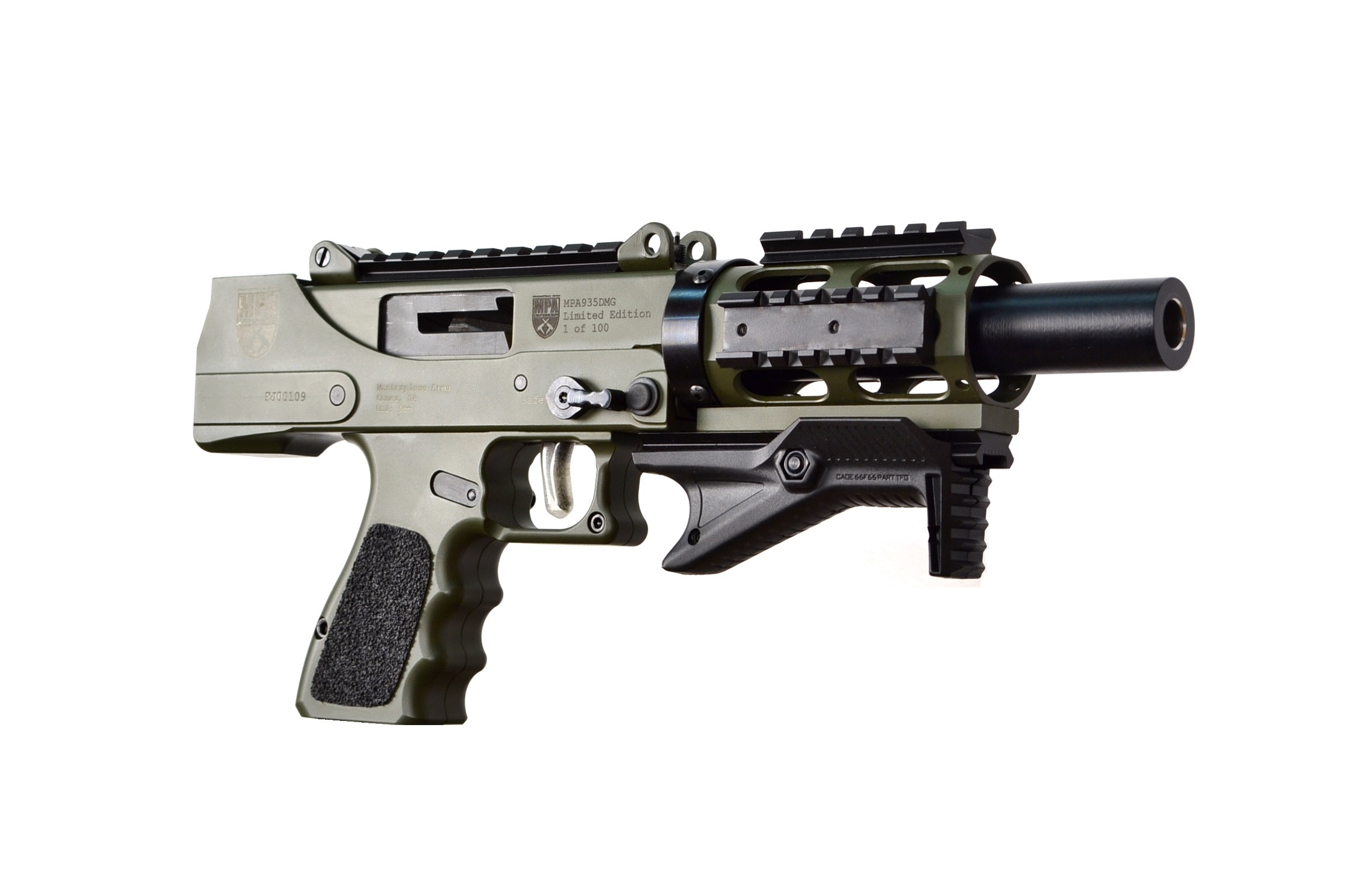 MasterPiece Arms MPA 6.5BA Bolt Action Rifle in Rifles